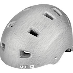 KED Risco Helmet grey/metall matte